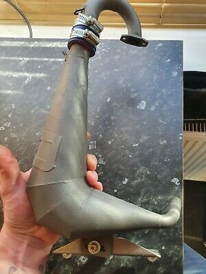 Olimat Sx5 Exhaust Pipe Hpi/rovan Baja 5b. May Fit Other Baja • 100£