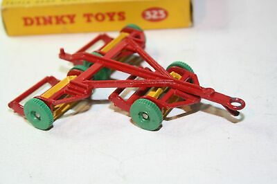 Dinky 27j/323Triple Gang Mower, Superb Condition In Near Mint Original Box • 69£