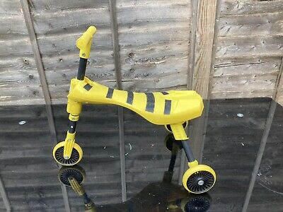 Scuttle Bug Bee Scooter Yellow And Black  • 14.99£