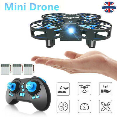 Mini Drone For Kids RC Pocket Quadcopter With Altitude Hold 2.4G Remote Control • 23.09£