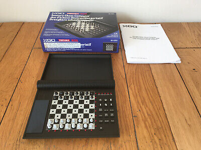 GO 1650L Portable Travel Sensory Chess Computer Game 16 Levels • 18.57£