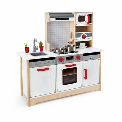 Childrens All In 1 Wooden Kitchen Play Set And Accessories Kids Toys • 292.33£