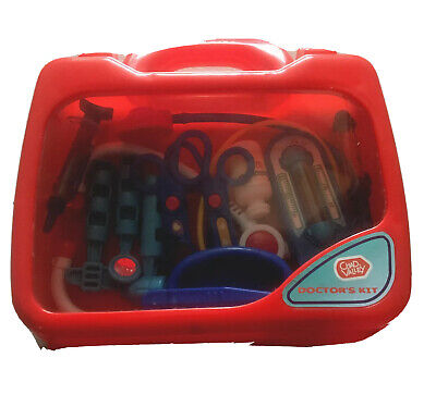 Chad Valley Doctors Kit Set With Full 12 Pcs • 1.50£