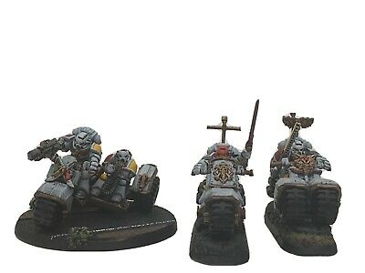 Warhammer 40k Space Marines Space Wolves Attack Bikes • 5£