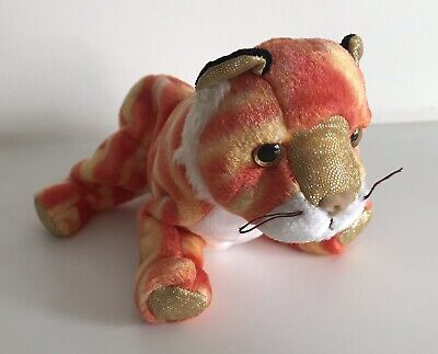 Ty Beanie Babies Tiger, Zodiac Collection, Retired, Rare, NWT 2000 • 2.99£