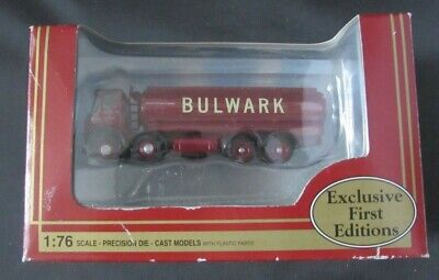 EFE 13502 Atkinson Oval Tanker BULWARK Commercial 1/76 Boxed Diecast Model Truck • 14.99£