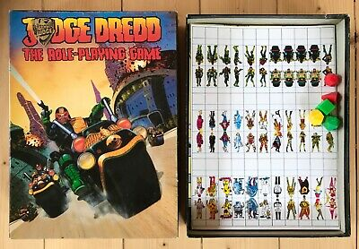 New! Judge Dredd Games Workshop Tabletop Role Playing Board Game Boxed Complete • 45£