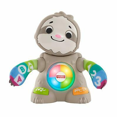Fisher-Price Linkimals Smooth Moves Sloth - Baby Toy With Music & Lights • 29.99£