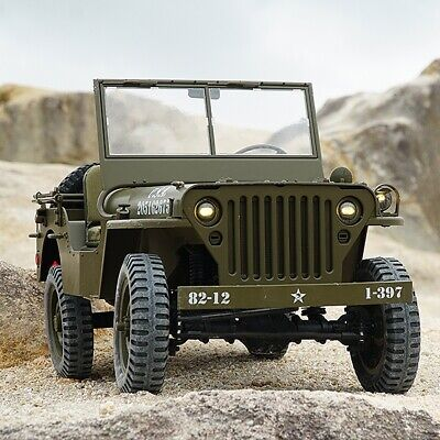 Roc Hobby 1/6Th Miltary Scaler Rtr - ROC001RS • 360.99£