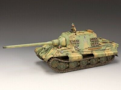 King And Country Ws180 German Jagdtiger Tank + Crew Military Toy Soldier Set • 300£