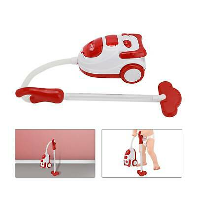 Kids Role Play Vacuum Cleaner Hoover Realistic Toy Red With Lights & Sounds • 8.99£