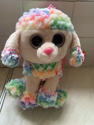 TY Rainbow Poodle Back Pack • 9.99£