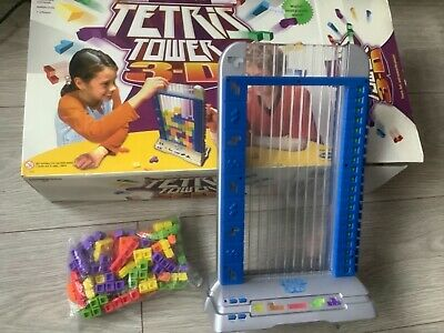Tetris 3D Tower Electronic Game By Radica Games Ages 8+ • 4.99£