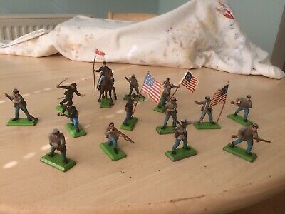 Britain's Deetail.  Job Lot ACW Figures Union & Confederate Troops • 24£