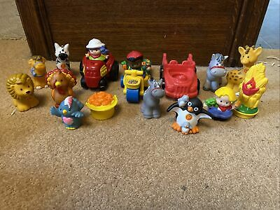 Fisher Price Little People Bundle Of Zoo Animals, Vehicles And Figures • 5.20£