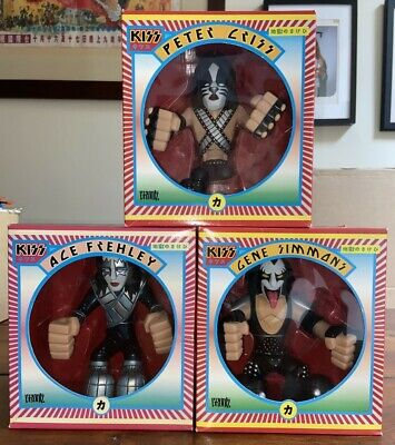 KISS Figures - Gruntz (Japanese Box) X 3 - BOXED • 40£
