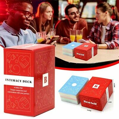Intimacy Deck By BestSelf Couple Board Game Card Full English Strategy Games • 9.59£
