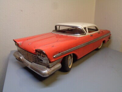 Vintage 1960's Tinplate Us American Car Made In China Very Rare Item Good Cond. • 5.50£