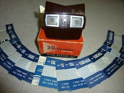 Vintage 3-d View-master Sawyer's 1950's Model E 3d With Reels. • 13.50£
