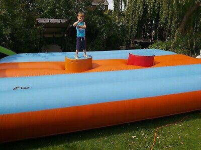 Inflatable Gladiator Duel - Bed 20ftx15ft Approx • 400£