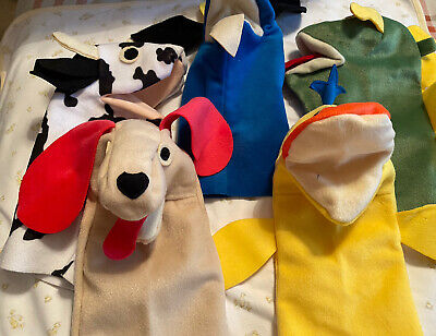 Set Of 5 Baby Einstein Hand Puppets  • 10£