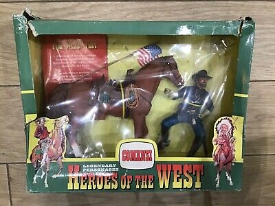 Comansi Heroes Of The Wild West - Nathan Mackenzie, Horse & Flag • 40£