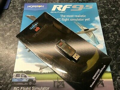 RealFlight 9.5 RC Flight Simulator Software Only And Spektrum WS2000 Wireless Do • 134.99£