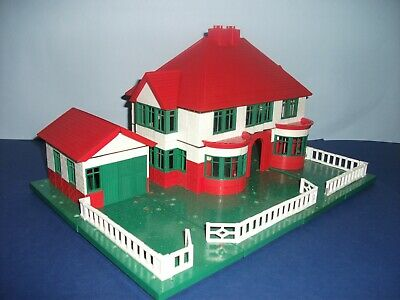 Bayko House & Garage Complete With All Parts & Building Instructions • 99£