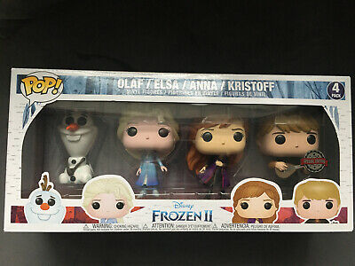 Funko Pop Frozen 2 Four Pack - Olaf Elsa Anna And Kristoff • 22.10£