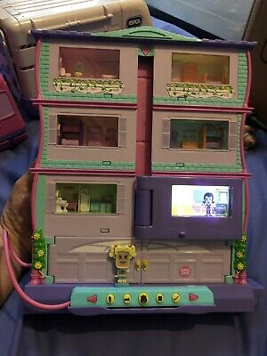 Pixel Chix Roomies House + Miss Sporty Figure (2006) By Mattel   W9. Xmas Gift • 11.50£
