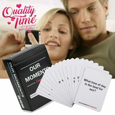 Our Moments Cards Couples Board Game 100Thought Provoking Conversation Starters~ • 9.59£