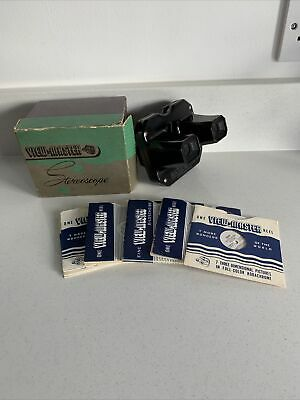 Vintage Sawyers View-master Stereoscope Boxed With 13 Viewing Reels • 15£