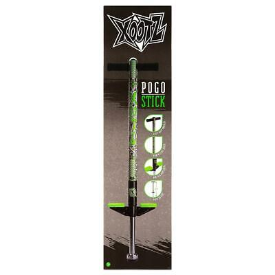 Cheapest Price ** Xootz Pogo Sticks Industrial Design Green And Black  94cm • 26.99£
