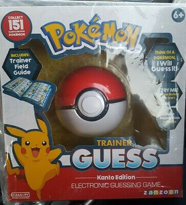 Pokemon Trainer Guess Kanto Edition - Electronic Guessing Game • 7.50£