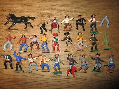 TIMPO TOYS - ENGLAND - VINTAGE AMERICAN CIVIL WAR SOLDIERS AND WESTERN 1960´s. • 19.61£