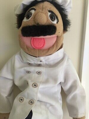 Melissa And Doug Hand Puppet Chef Puppet • 17£