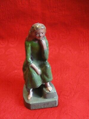 Vintage Britains Lead Figure Of Cinderella Rare Item Madam Tussauds Item • 15£