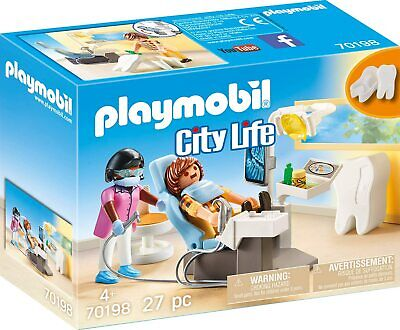 Playmobil 70198 City Life Dentist • 14.18£