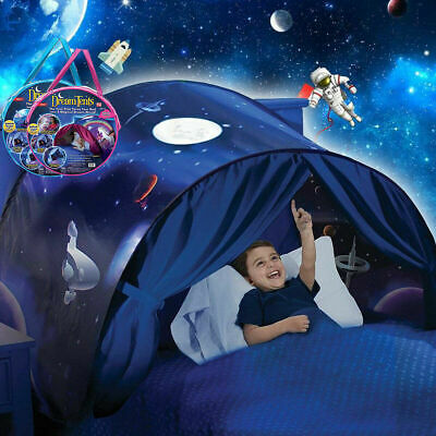 UK Dream Tents Kid House Space Adventure Tent Foldable Pop Up Indoor Bed  • 13.99£