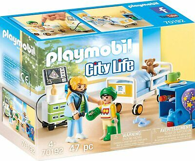 Playmobil 70192 Children's Hospital Room • 15.79£