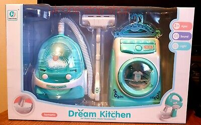 Kitchen Playset With Realistic Sounds And Lights Toys For Children • 11.95£