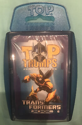 Transformers Prime Top Trumps Sealed Battle Game Winning Moves Hasbro 2012 • 3.40£
