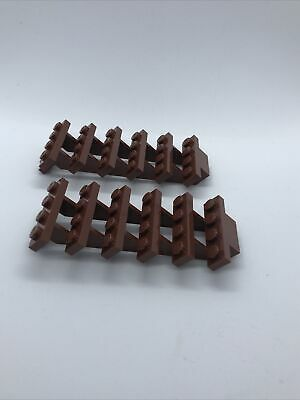2 X New Lego Stairs Steps Ladder Parts 7 X 4 X 6 - 4277751 • 2.98£