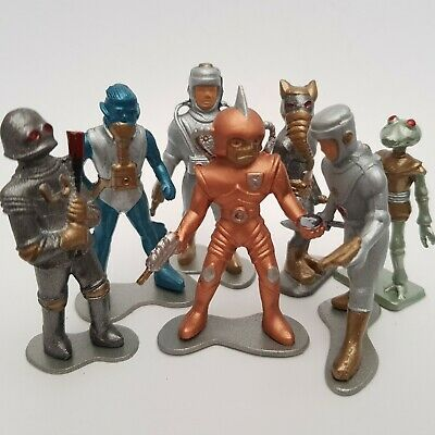 Lead Cherilea Style 1950s Spaceman With Axe In Excellent Condition • 16.45£