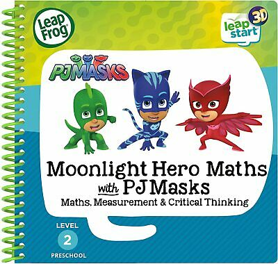LeapStart PJ Masks 3D Activity Book LeapFrog Moonlight Hero Maths  • 10.99£