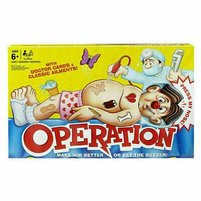 Kids Family Classic Operation Board Game Fun Childrens Xmas Gifts Toys • 13.29£