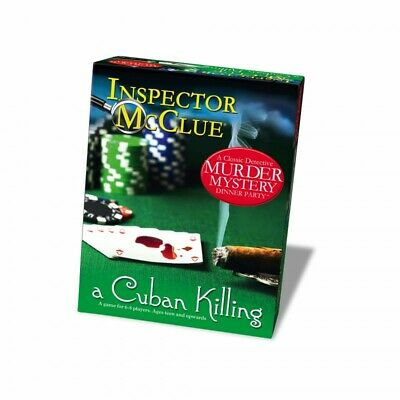 MYSTERY DINNER PARTY GAME - INSPECTOR McCLUE - A CUBAN KILLING - BNIB • 13.99£
