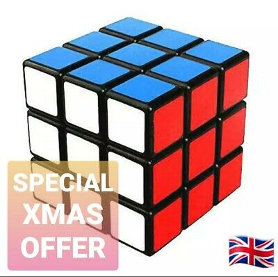 Puzzle Rubiks Cube 3D Brain Teaser Mind Game Kids Stocking Filler Toy Magic Fun • 3.99£