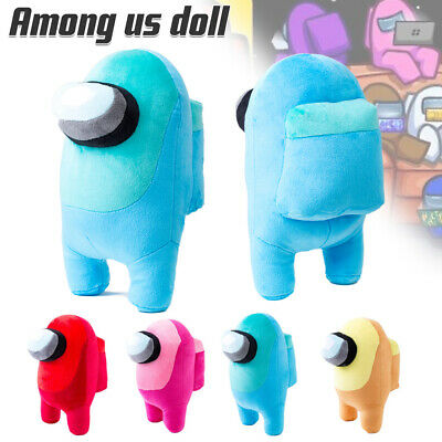 20cm Among Us Plush Soft Stuffed Doll Game Figure Crewmate Plushie Toy Xmas Gift • 6.29£