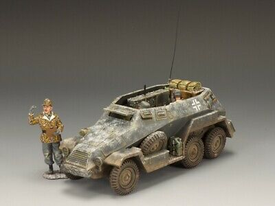 King And Country Bbg039 German Army Otto Skorzeny's Command Car Vehicle + Crew • 225£